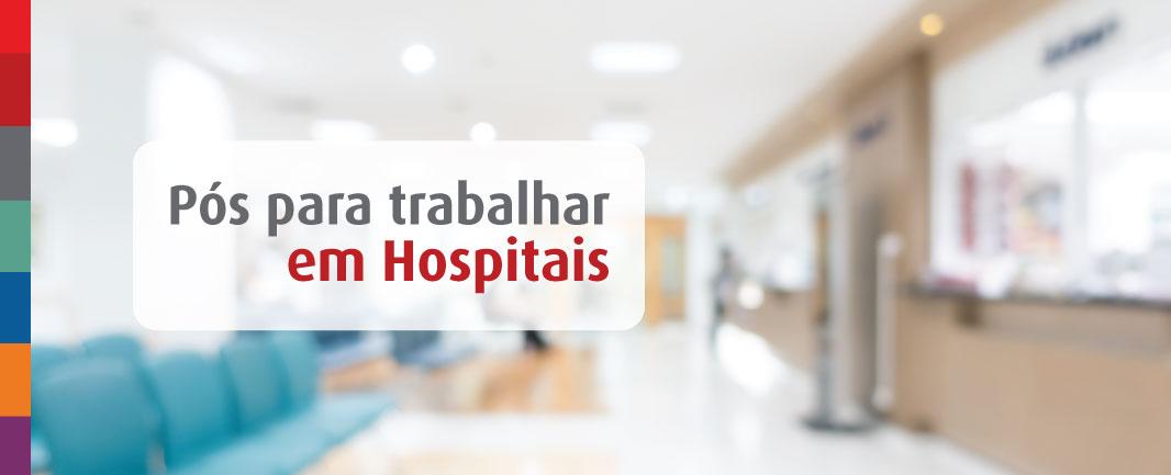 Foto da Notícia 4 cursos/áreas de pós EAD para profissionais que desejam trabalhar em hospital