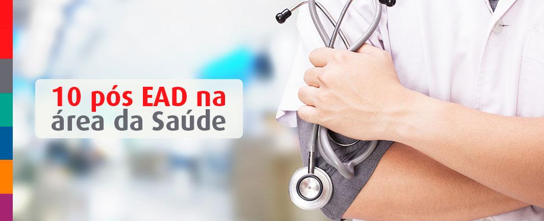10 cursos de pós EAD para ter sucesso na área da saúde