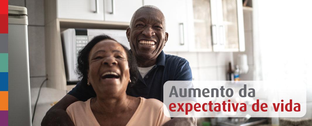 Foto da Notícia O que contribui para o aumento da expectativa de vida